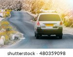 Stock photo off road suv driving on the rock mountain road in leh india 480359098