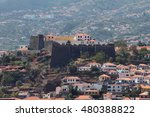 ancient fortress and city.... | Shutterstock . vector #480388822