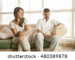 middle aged couple fighting | Shutterstock . vector #480389878