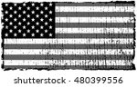 grunge usa flag.old american... | Shutterstock .eps vector #480399556