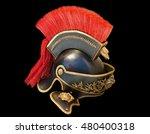 Roman Soldier Helmet In Black...