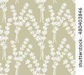 Lavender. A Seamless Pattern...