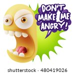 3d rendering angry character... | Shutterstock . vector #480419026