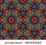 abstract geometric mosaic.... | Shutterstock .eps vector #480450685