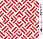 Seamless Pattern With Symmetri...
