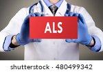 doctor's hands in blue gloves... | Shutterstock . vector #480499342