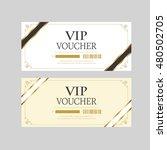 voucher design | Shutterstock .eps vector #480502705