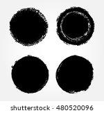 vector grunge circles. grunge...   Shutterstock .eps vector #480520096