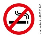 dont smoke prohibition sign... | Shutterstock .eps vector #480521146