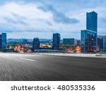 road through modern city