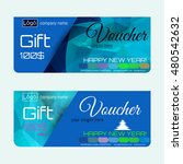 gift voucher. the combination... | Shutterstock .eps vector #480542632
