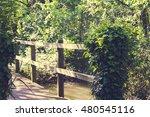 bridge over a little stream...   Shutterstock . vector #480545116
