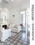 living room interior | Shutterstock . vector #480545866