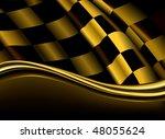 Golden Checkered Backdrop