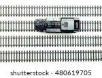 model steam locomotive | Shutterstock . vector #480619705