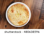 ossetian pie with potatoes or... | Shutterstock . vector #480638596