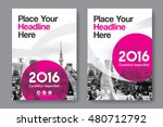 pink color scheme with city...   Shutterstock .eps vector #480712792
