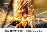 spot welding machine industrial ... | Shutterstock . vector #480717262