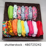 A Lot Of Eco Cloth Diapers In...