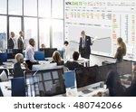 stock exchange trading forex... | Shutterstock . vector #480742066