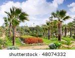 Alexandria Royal  park, Egypt - stock photo