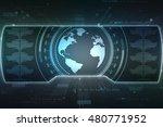 globe internet connecting 3d...   Shutterstock . vector #480771952