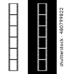 vector film strip graphic set... | Shutterstock .eps vector #480799822
