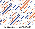 abstract color line background. | Shutterstock .eps vector #480809692