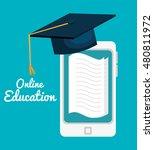 student school set elements...   Shutterstock .eps vector #480811972