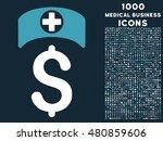 medical business raster bicolor ... | Shutterstock . vector #480859606