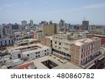 lima  peru    view to roofs of... | Shutterstock . vector #480860782
