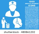 medical business raster icon... | Shutterstock . vector #480861202