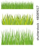 lawn and grass | Shutterstock .eps vector #48089017