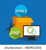 design language programming... | Shutterstock .eps vector #480902356
