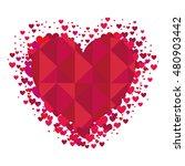 heart love shape | Shutterstock .eps vector #480903442