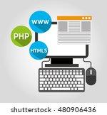 design language programming... | Shutterstock .eps vector #480906436