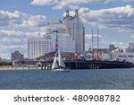 atlantic city  new jersey  usa  ... | Shutterstock . vector #480908782