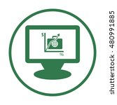business icon. vector. | Shutterstock .eps vector #480991885