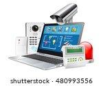 access control concept   home... | Shutterstock .eps vector #480993556