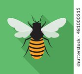 bee flat icon. you can be used...