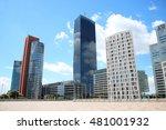vienna skyscrapers   | Shutterstock . vector #481001932
