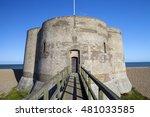martello tower fort  suffolk...