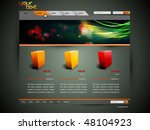 modern web site design vector... | Shutterstock .eps vector #48104923