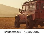 Truck Car On Offroad  Adventur...