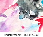 abstract background watercolor... | Shutterstock . vector #481116052