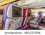 interior of large passengers... | Shutterstock . vector #481121506