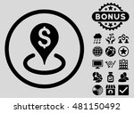 geo targeting icon with bonus.... | Shutterstock .eps vector #481150492