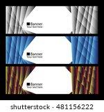 vector. horizontal vector... | Shutterstock .eps vector #481156222