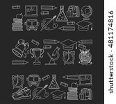 school and education icons | Shutterstock .eps vector #481174816