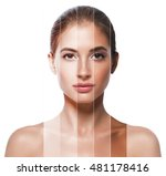 portrait woman with problem and ... | Shutterstock . vector #481178416